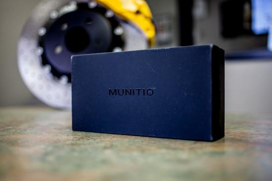 munitio nines earbuds earphones black box