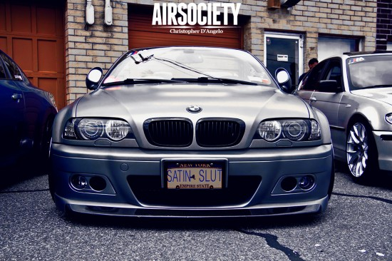 bmw e46 m3 bagged airride ksport deluxe airtech airsociety