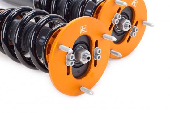 bmw,e46,m3,white,csl,ksport,kontrol pro coilover,true rear coilover design,suspension,coilovers