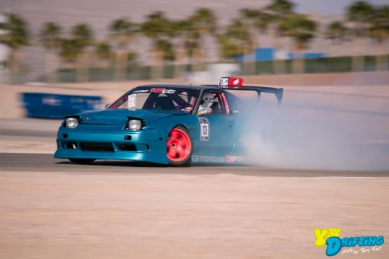 vegas drift pro am mike burns ksport drifting drift round 1 slide kontrol