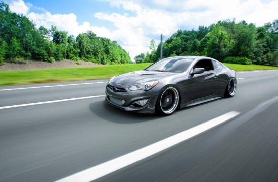 genesis 2013 air suspension ksport coupe turbo