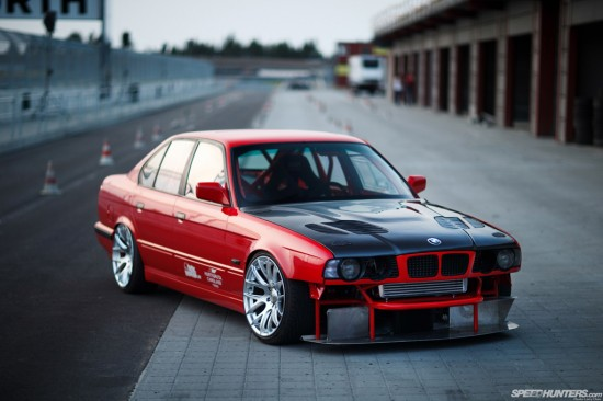 bmw e34 ksport kontrol pro coilovers big brake kit mi performance