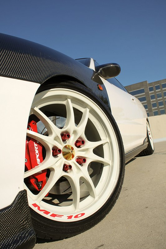 Ksport ProComp Big Brake Kit behind Mugen MF10 wheels