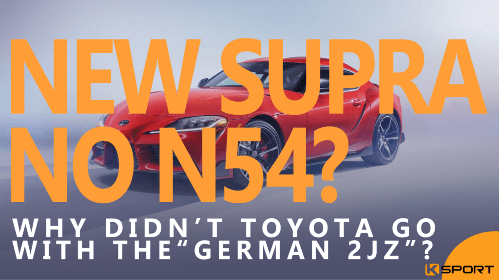 What Is The Best Engine For The New A90 Toyota Supra? - Ksport USA