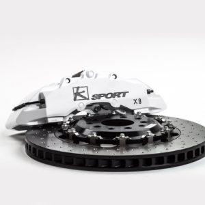 Ksport BKNS220-862SO 16 8-Piston SuperComp Rear Brake Kit