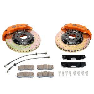 ksport-611-crossdrilled-orange-big-brake-kit