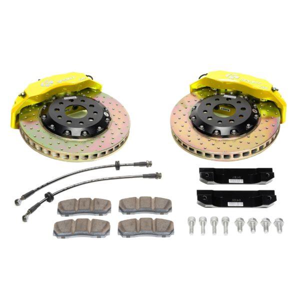 ksport-611-crossdrilled-yellow-big-brake-kit