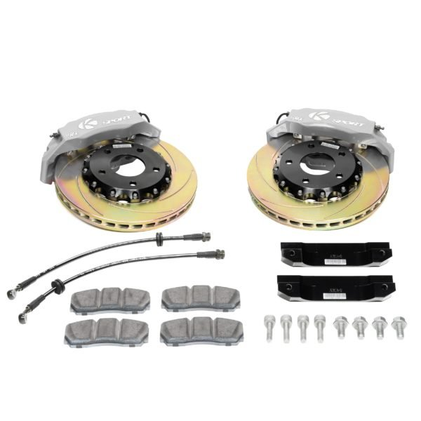 ksport-611-slotted-silver-big-brake-kit