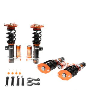 ksport-circuit-pro-3-way-racing-coilovers-pillowball-camber-aluminum