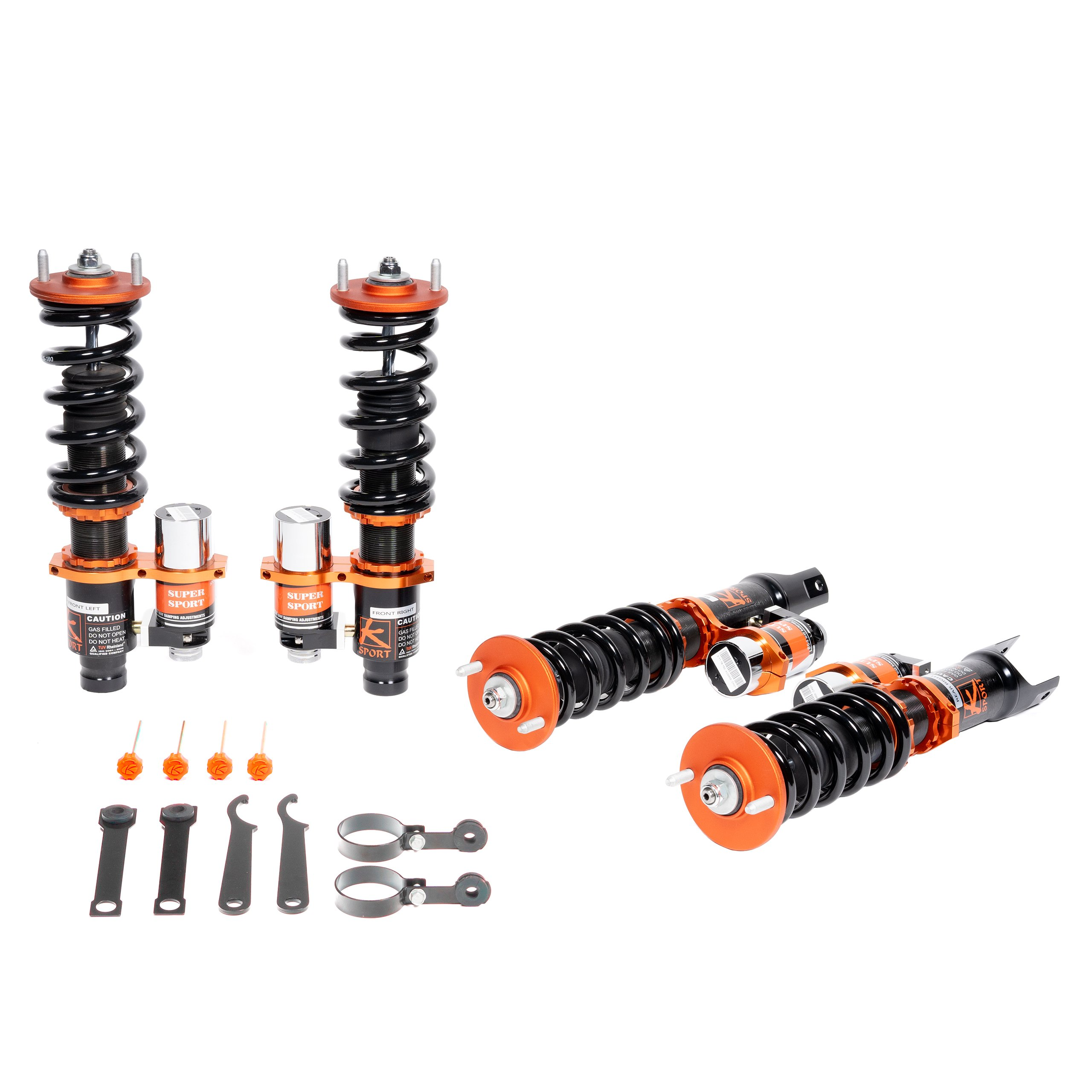 Acura Rsx Adjustable Coilovers For 02 06 Cac030 P2