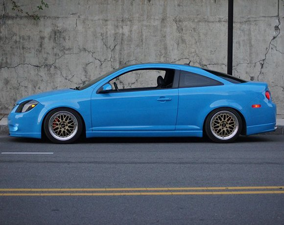 Lowered-Chevy-Cobalt-Coilovers
