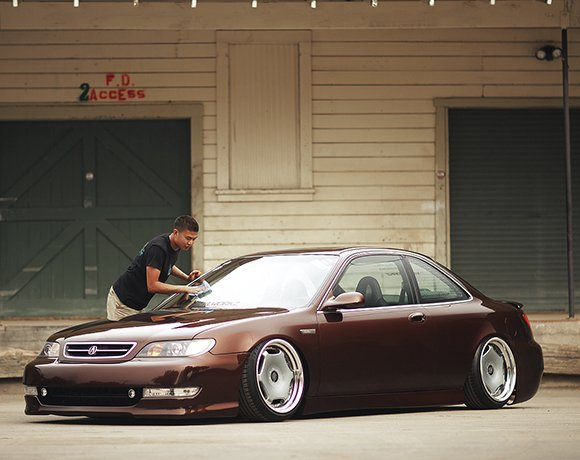 Slammed-Acura-CL