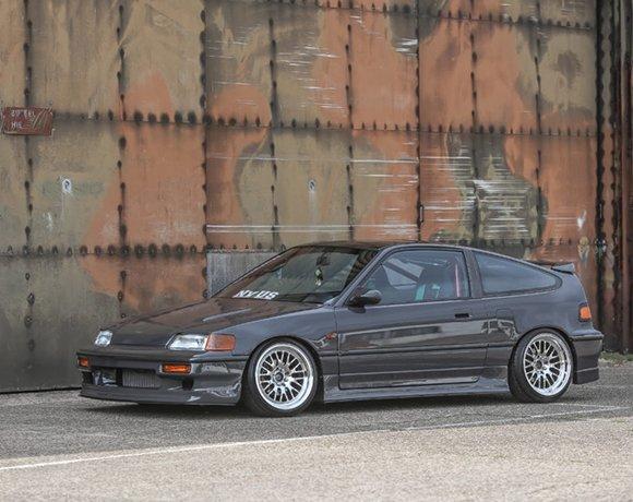 Slammed-Honda-CRX