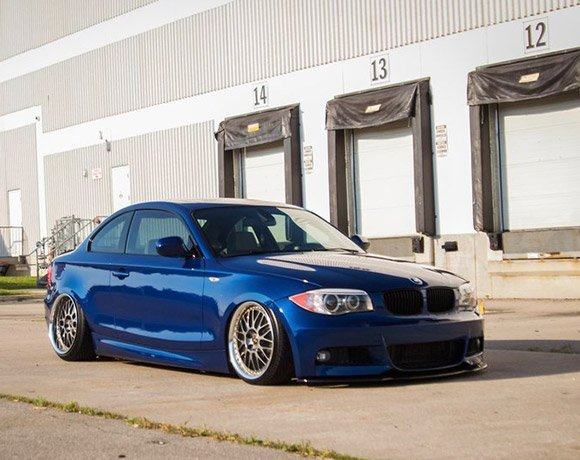 Bagged-1-Series-BMW-Air-Suspension