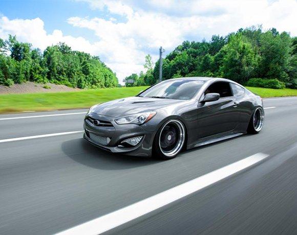 Bagged-Hyundai-Genesis-Coupe