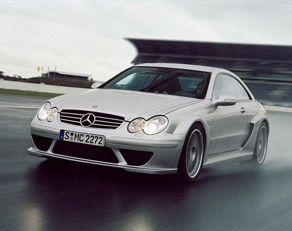 Mercedes-Benz-CLK-Suspension