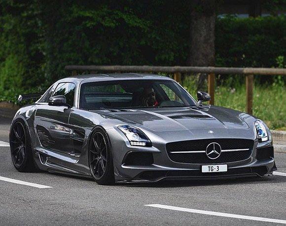Mercedes-Benz-SLS-Suspension
