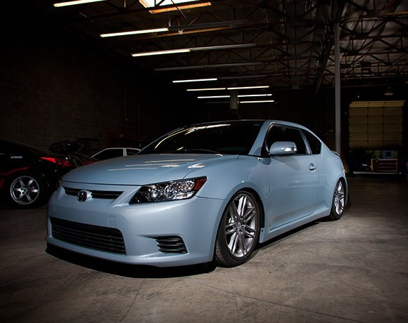 Slammed-Scion-tC-Coilovers