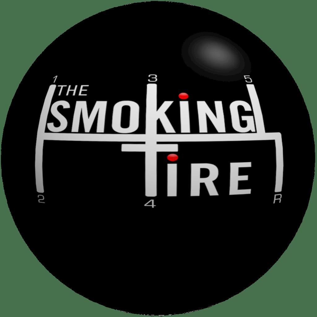 The smoking tire logo