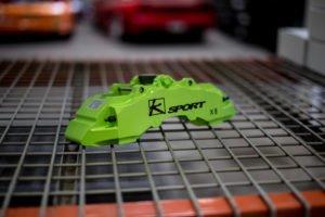 Custom Painted Brake Caliper