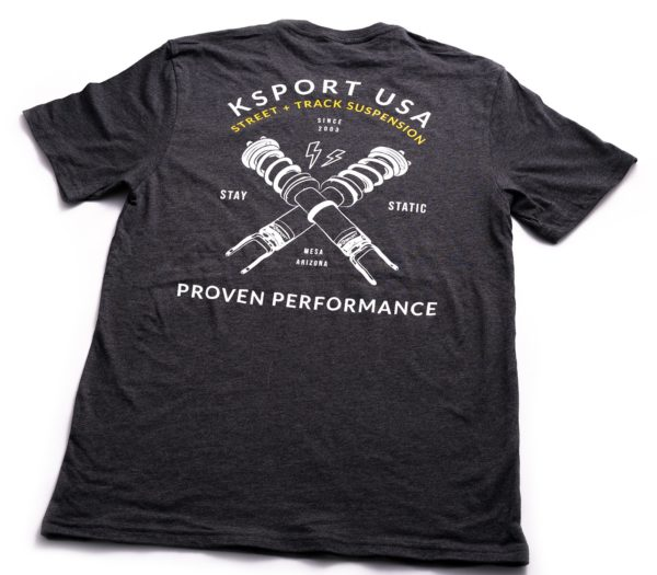 Gray Coilover T Shirt