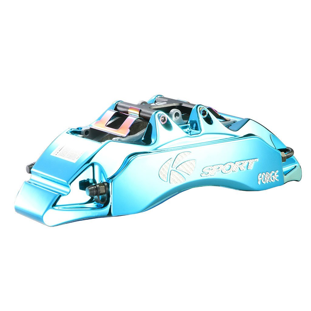 Glassy Blue Brake Caliper