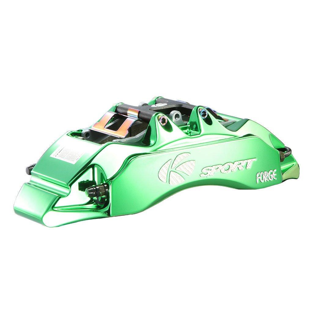 Glassy Green Brake Caliper