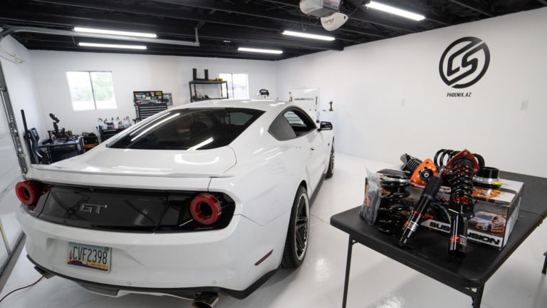 Ford Mustang GT and Ksport Coilovers